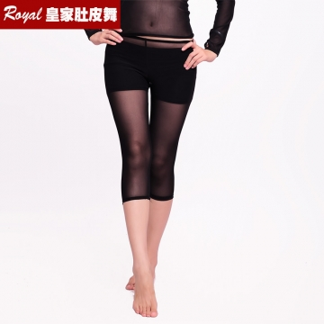 ROYAL SMEELA/皇家西米拉 肚皮舞网纱7分裤 9004